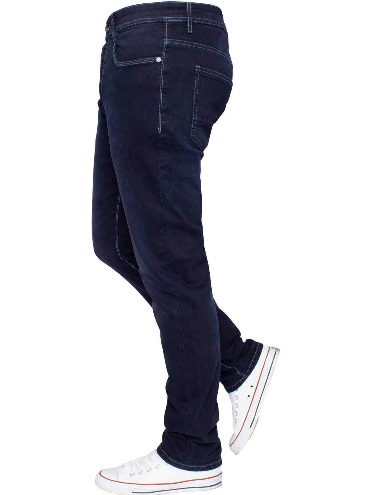ETO | Mens Designer Tapered Fit Stretch Denim Jeans