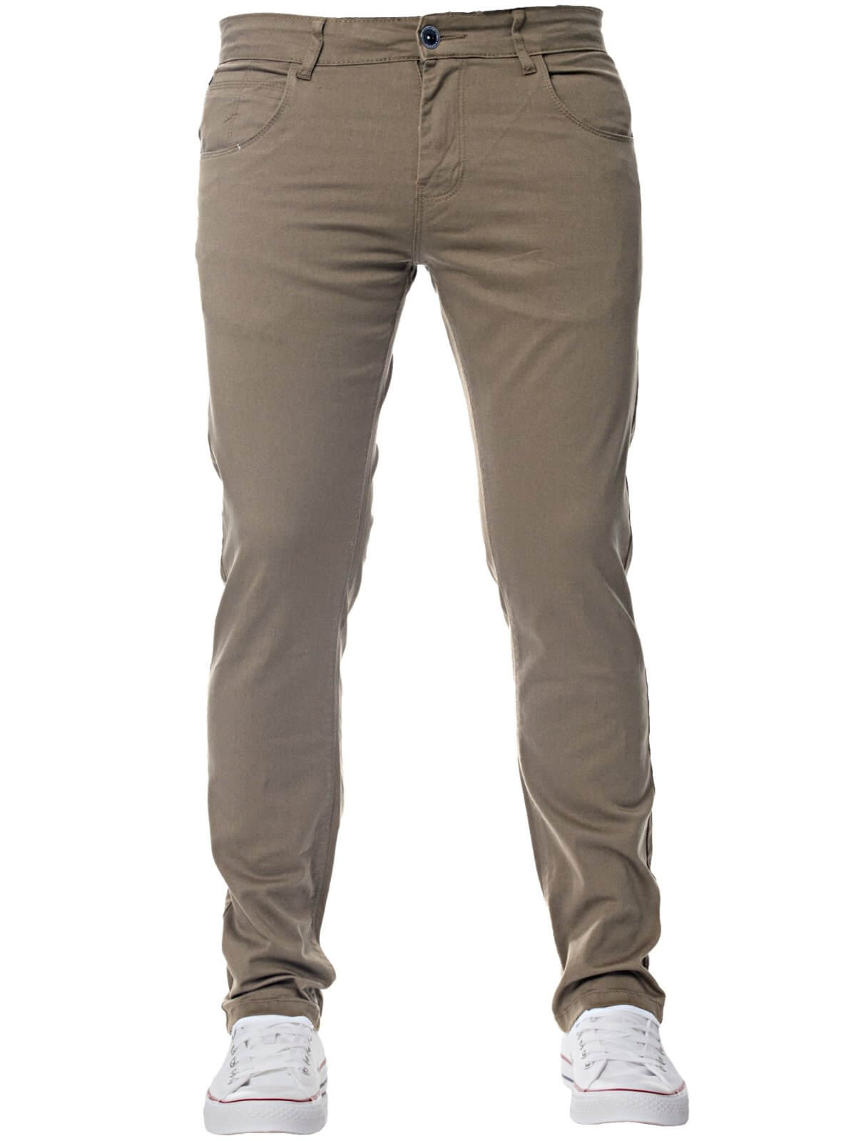 Mens Slim Fit Stretch Chinos Available In 8 Colours | Kruze Designer Menswear